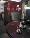 Smoking compartment in King Edward VII's Ro