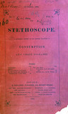 Front cover of 'The Stethoscope', 1862.