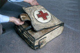 A World War 1 medical pack, German, 1915-1918.