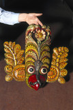 A Singhalese ceremonial mask.