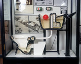 'How a WC works' display, Science Museum, c 1997.