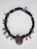 Apache medicine man's amuletic necklace, United States.