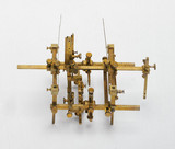 Bras stereotaxic apparatus, English, c 1905.