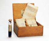 A medicine chest for cholera, English, 1849-1900.