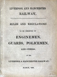 Rules and regulations for enginemen, guards and policemen, 1839.