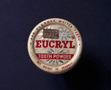 Tin of Eucryl toothpowder, 1960-1970.
