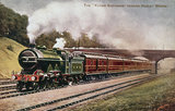 'The 'Flying Scotsman' pasing Hadley Woods, c 1906.