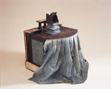 Sir Joshua Reynolds' camera obscura, c 1760-1780.