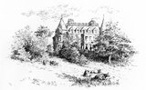 Netherhall, home of Lord Kelvin, near Largs in Scotland, 1875-1907.
