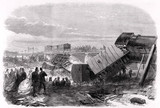 'Accident at Staplehurst, on the South-Eastern Railway', July 1865.