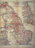 Map of England as served by the London & North Eastern Railway, c 1930.