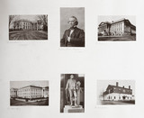 Albumen prints relating to Washington DC, USA, c 1863.