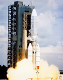 Launch of Voyager 1 spacecraft, 5th September, 1977.