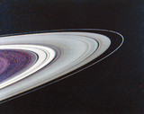 The rings of Saturn, 1980.