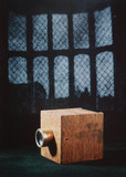 Latticed window in Lacock Abbey, 1835.