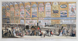 'Modern Advertising: A Railway Station', 1874.