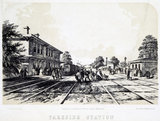 Parkside Station, Merseyside, 1848.