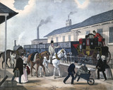 'The Last of the Coaches', c 1850.