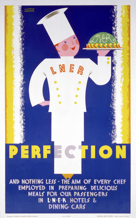 'Perfection', LNER poster, c 1930s.