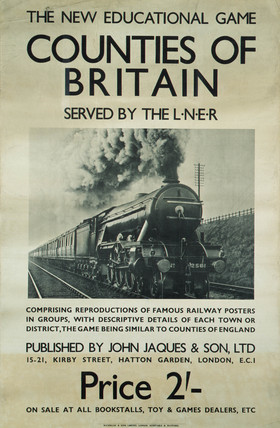 'Counties of Britain', LNER poster, 1923-1947.
