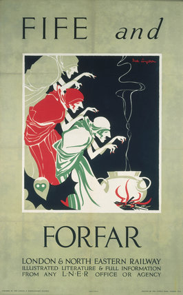 'Fife and Forfar', LNER poster, c 1930s.