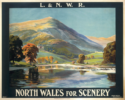 'North Wales for Scenery', LNWR poster, early 20th century.