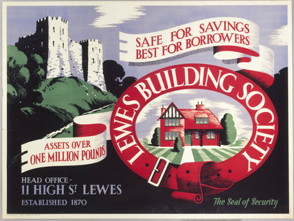 'Lewes Building Society - Safe for Savings,