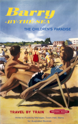 'Barry-by-the-Sea', BR poster, 1961.
