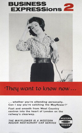 'Busines Expresions 2 - They Want to Know Now...', BR poster, 1962.