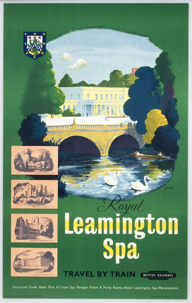 'Royal Leamington Spa', BR (WR) poster. Col