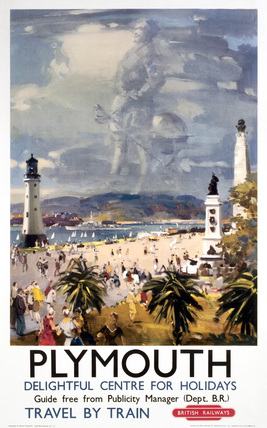 'Plymouth', BR poster, 1948-1965.