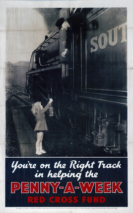 'You're on the Right Track', poster, 1940-45.