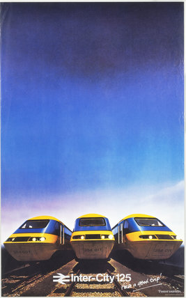 Inter-City 125, BR poster, 1979.