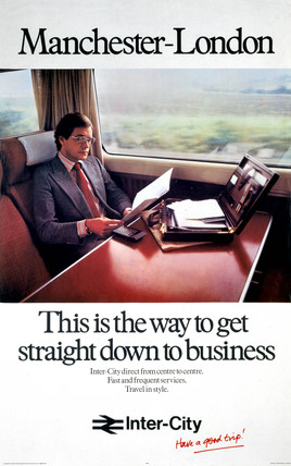 'Manchester-London - This is the Way to get Straight Down to Busines', 1979.