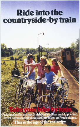'Ride into the Countryside - By Train. Take