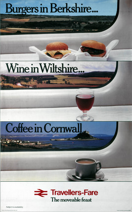 'Travellers-Fare...', BR (CPU) poster, 1980.
