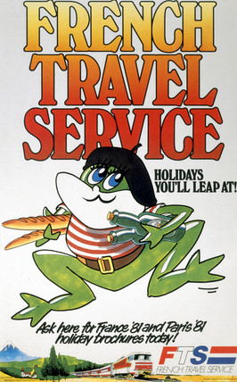 'Holidays you'll Leap At!', FTS poster, 1981.