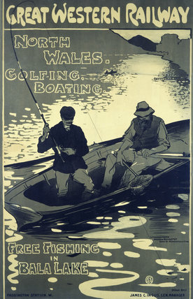 'North Wales', GWR poster, 1910.