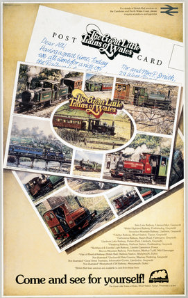 'The Great Little Trains of Wales - Come and See for Yourself!', c 1980s.