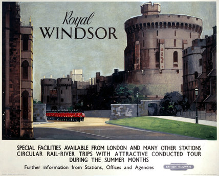 'Royal Windsor', BR (WR) poster, c 1950s.