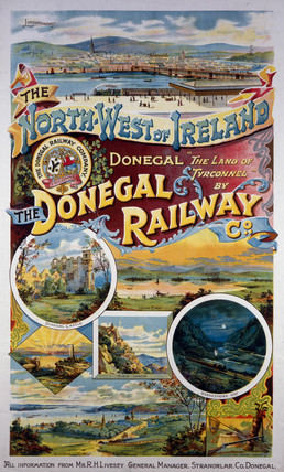 'North West of Ireland', DRC poster, c 1930s.