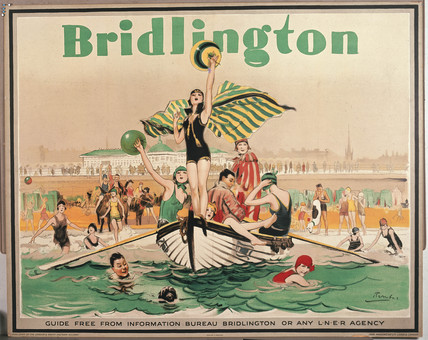 LNER poster. Bridlington by Barribal. Print