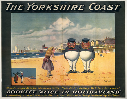 'The Yorkshire Coast', NER poster, 1923-1947.