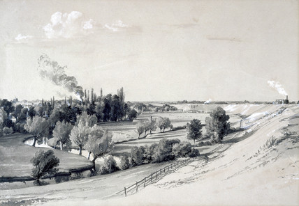 Watford Embankment, Hertfordshire, 29 October 1837.