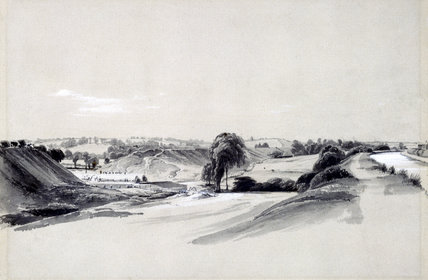 Making an embankment, Bugbrooke, 10 July 1837.