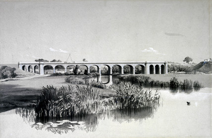 Avon Viaduct, Wolston, 2 July 1837.