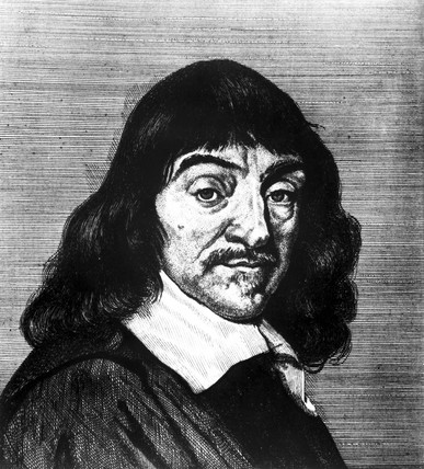 Rene Descartes, French philosopher and mathematician, c 1630.