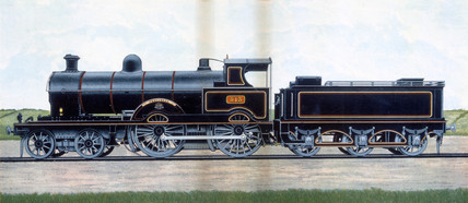'Precursor', London & North Western Railway locomotive no 513, c 1904.