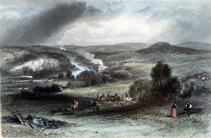 Allerwash, Northumberland, 1838.