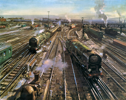 Clapham Junction London 1961 By Cuneo Terence Tenison At Science And Society Picture Library